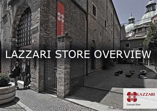 Lazzari Store overview brochure