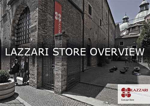 Lazzari Store overview brochure