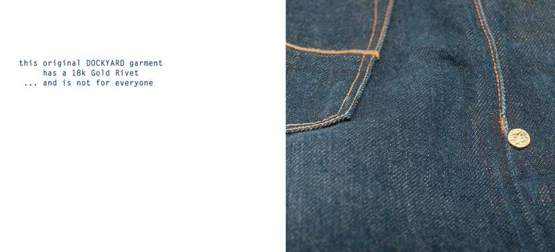 Dockyard Jeansi in Japanese denim