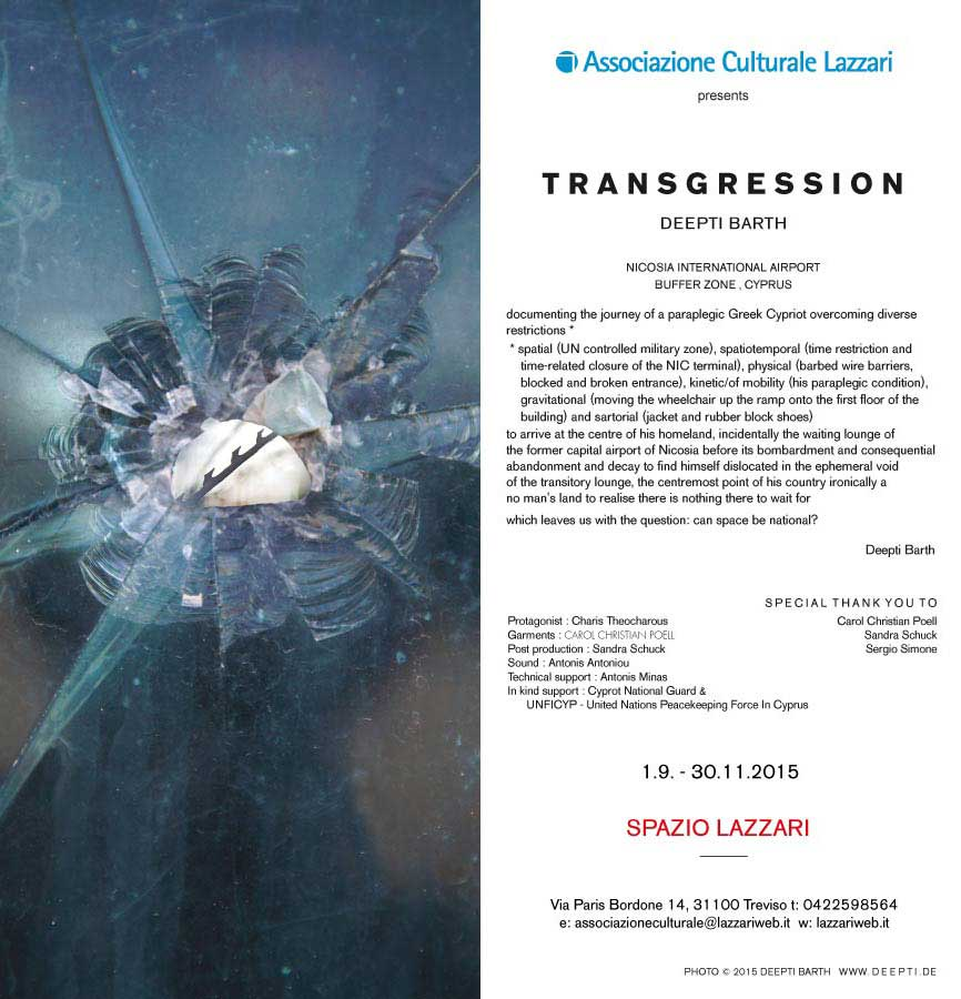 deepti barth transgression exhibition