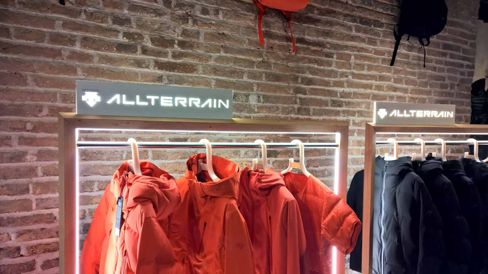 Allterrain New Collection Red Jackets