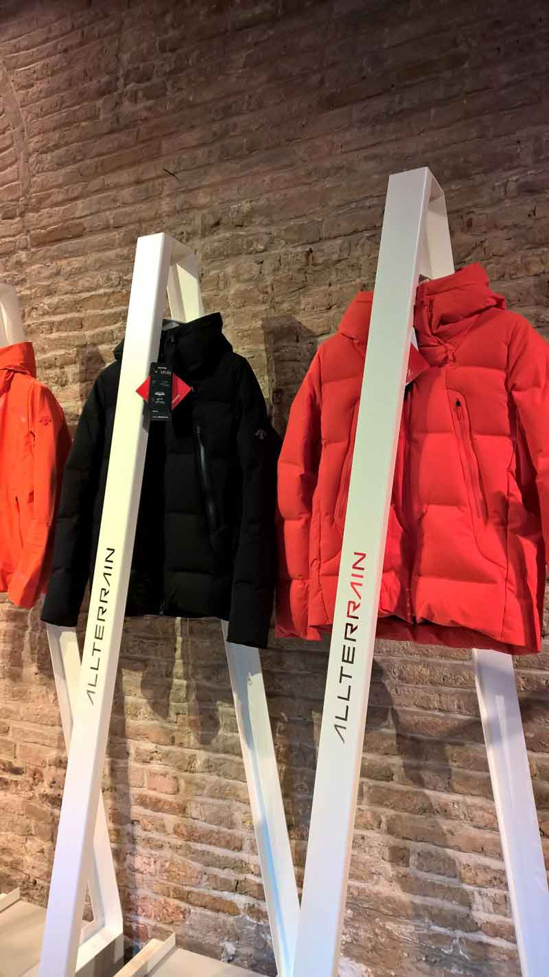 allterrain new collection black and red jackets