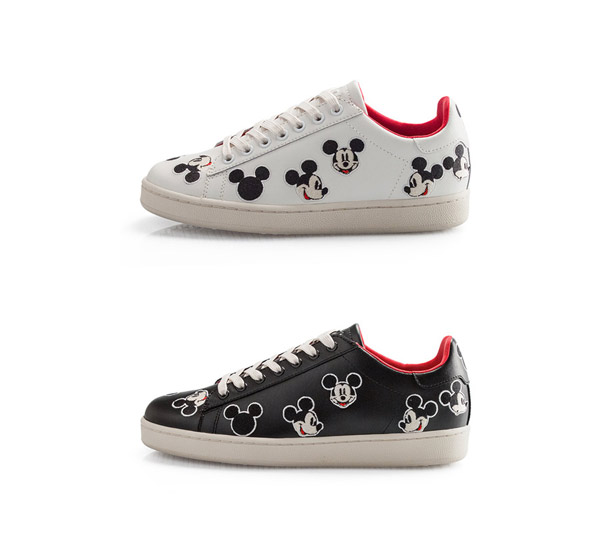 Moa Disney Sneakers with Mickey Mouse - Master of Arts Disney Shoes Moa