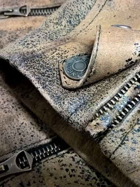Golden Goose SS16 | biker leather jacket