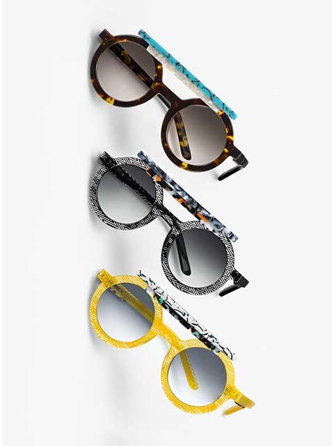 Clemence Seilles X Oxydo eyewear