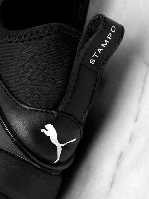 Puma X Stampd Black Sneakers