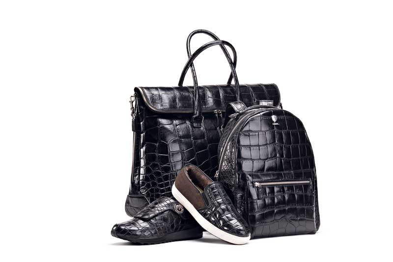 Tardini accessories alligator leather treatment