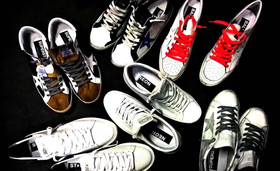 Golden Goose sneakers: from shoes to leather jackets Made in Italy