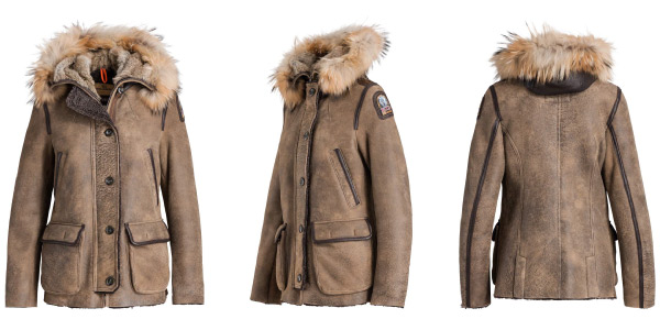 Parajumpers Janies sheep shearling jacket