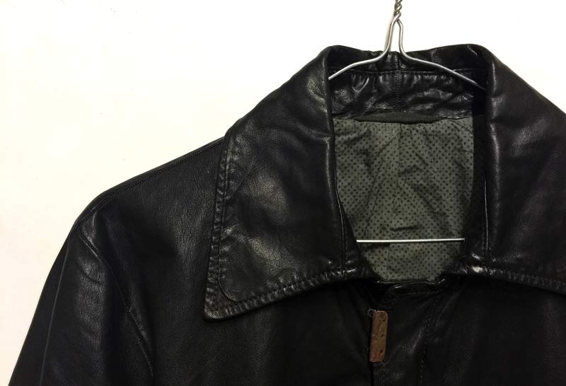 Carol Christian Poell leather jacket