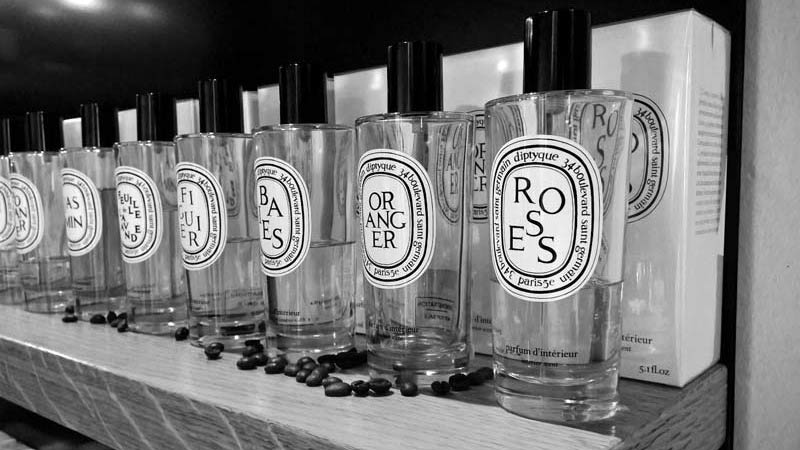 Diptyque Perfumes and Fragrances at Lazzari Store Treviso
