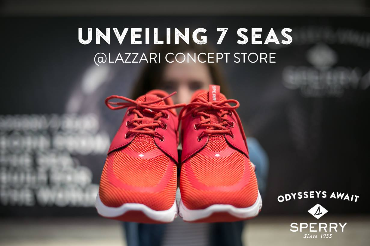 Sperry 7Seas at Lazzari Store Treviso