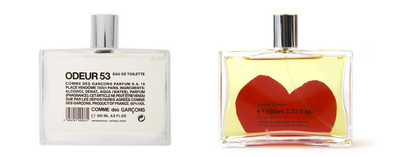 Comme des Garcons Parfums at Lazzari Store Treviso Italy