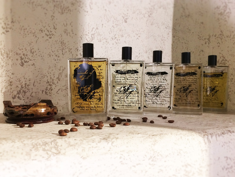 Diario olfattivo simone andreoli's perfumes