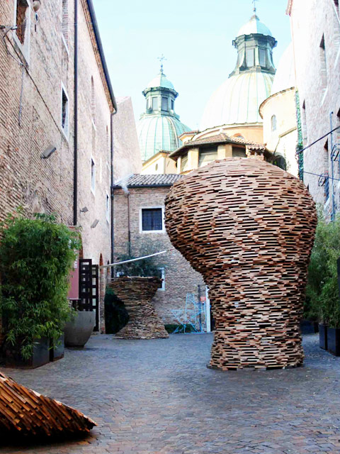 Mostra di sculture a Treviso